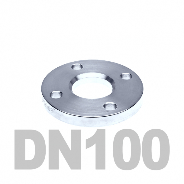 Фланец свободный нержавеющий DN100 AISI 304 PN10 (104мм) DIN2642