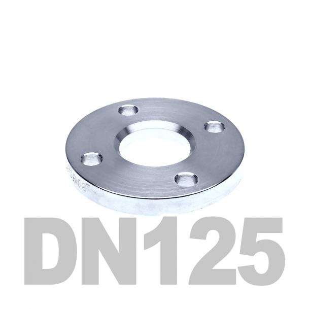 Фланец свободный нержавеющий DN125 AISI 304 PN10 (129мм) DIN2642
