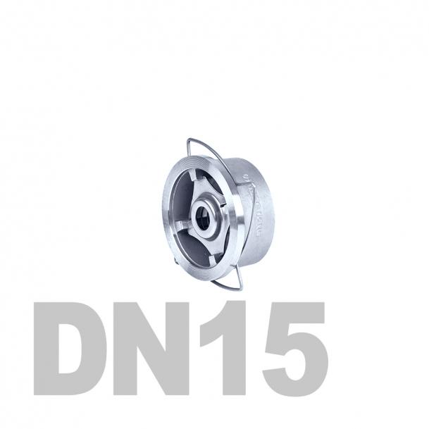 "Клапан нержавеющий обратный межфланцевый DN15 AISI 316 (1/2"" | 21.3мм)"