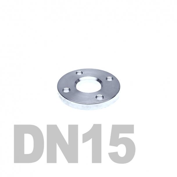Фланец свободный нержавеющий DN15 AISI 304 PN10 (18мм) DIN2642