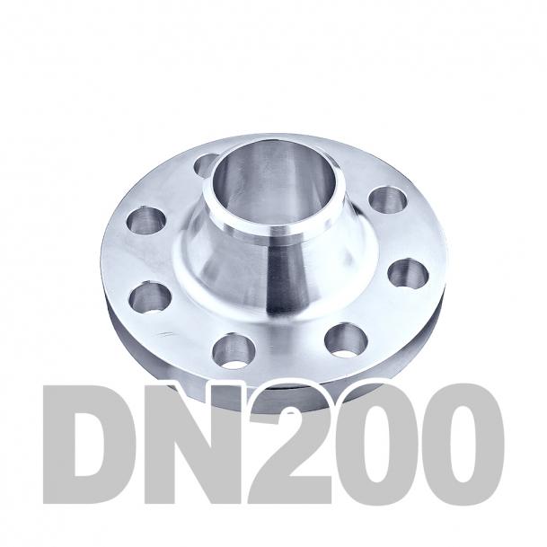 Фланец воротниковый нержавеющий DN200 AISI 316 PN16 (219.1мм) DIN2633