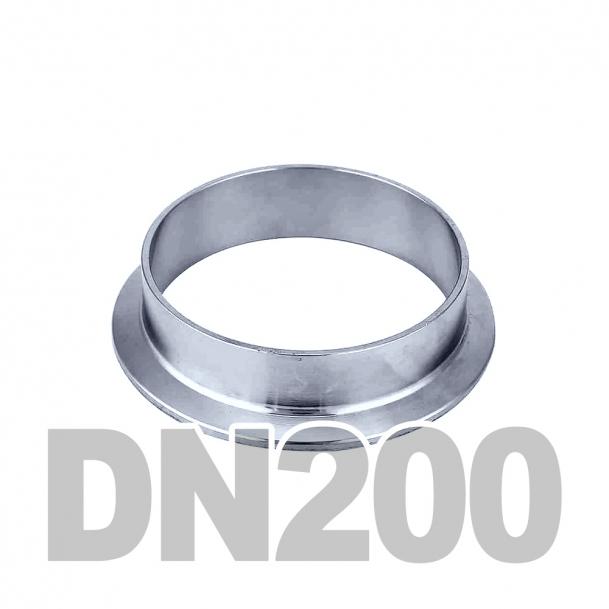 Фланцевая нержавеющая отбортовка DN200 AISI 316 (219.1мм x 3мм)