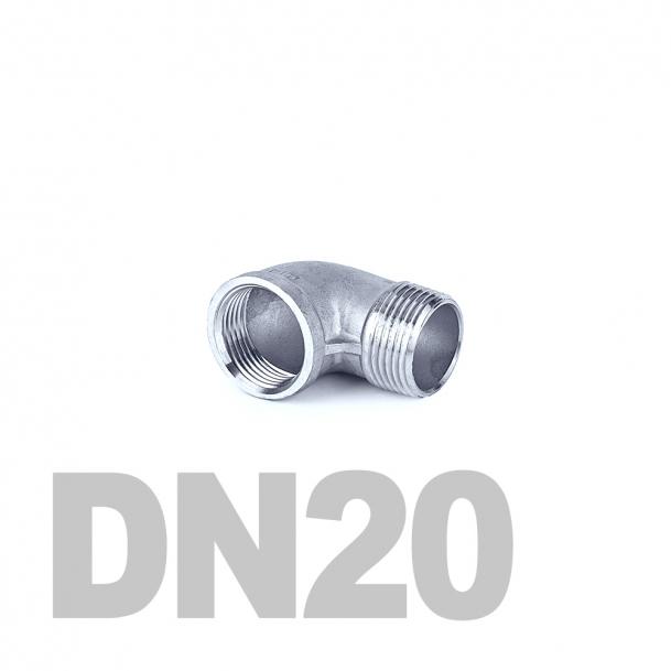 "Отвод нержавеющий вр-нр DN20 AISI 316 (3/4"" | 26.9мм)"