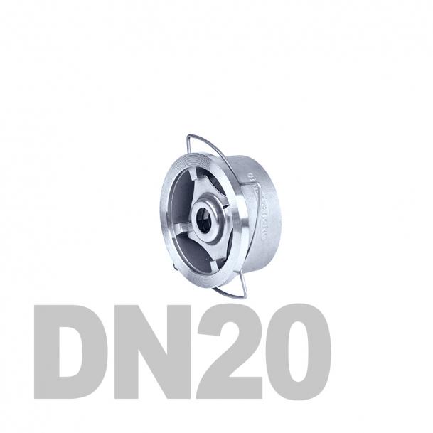 "Клапан нержавеющий обратный межфланцевый DN20 AISI 316 (3/4"" | 26.9мм)"