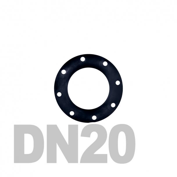 Прокладка EPDM DN20 PN16 DIN 2690