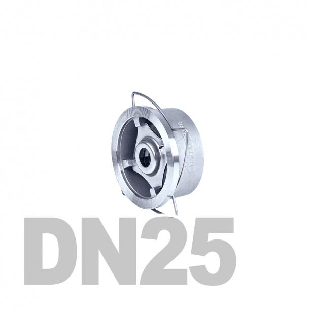"Клапан нержавеющий обратный межфланцевый DN25 AISI 316 (1"" | 33.7мм)"