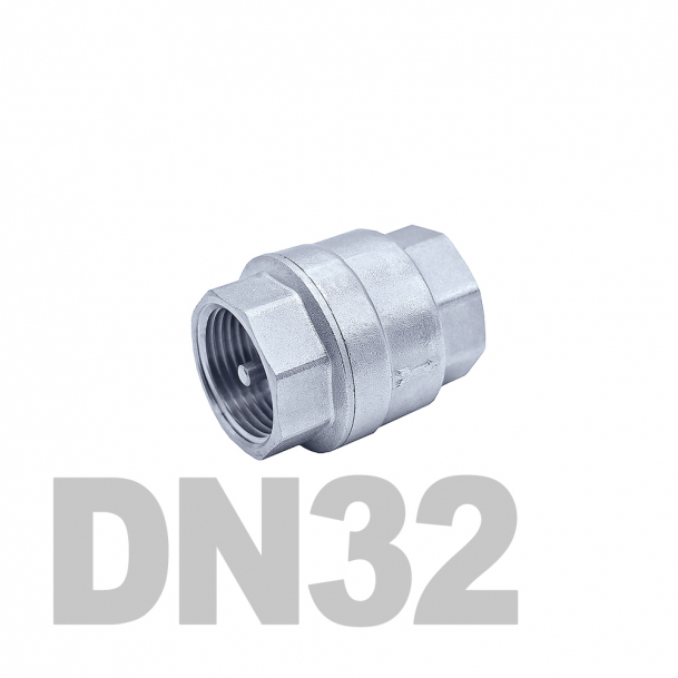 """Клапан нержавеющий обратный вр-вр DN32 AISI 316 (1 1/4""""   42.4мм)"""