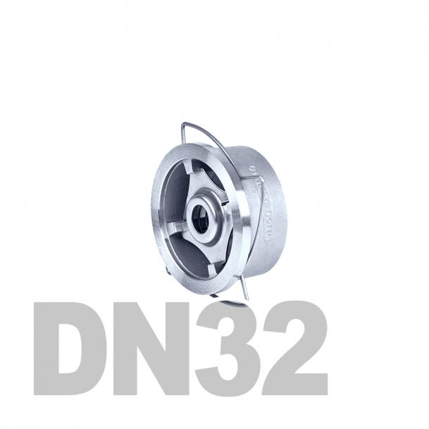 "Клапан нержавеющий обратный межфланцевый DN32 AISI 316 (1 1/4"" | 42.4мм)"