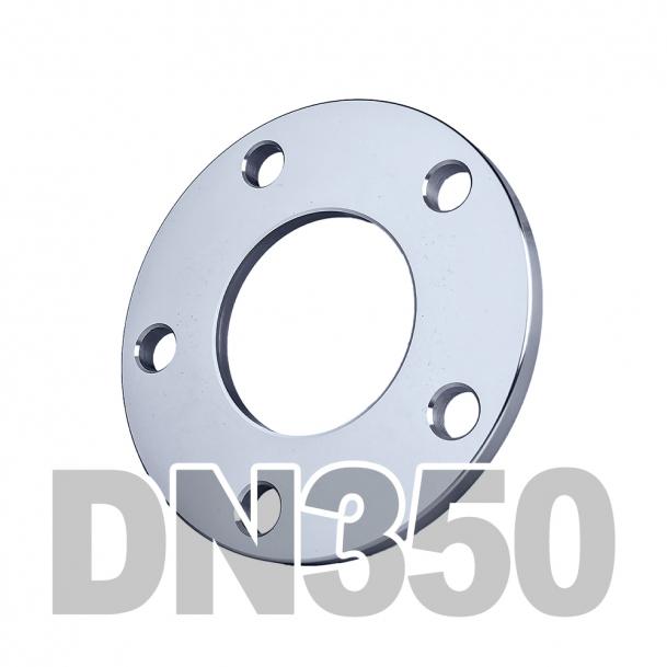 Фланец плоский нержавеющий DN350 AISI 304 PN16 (355.6мм) DIN2577