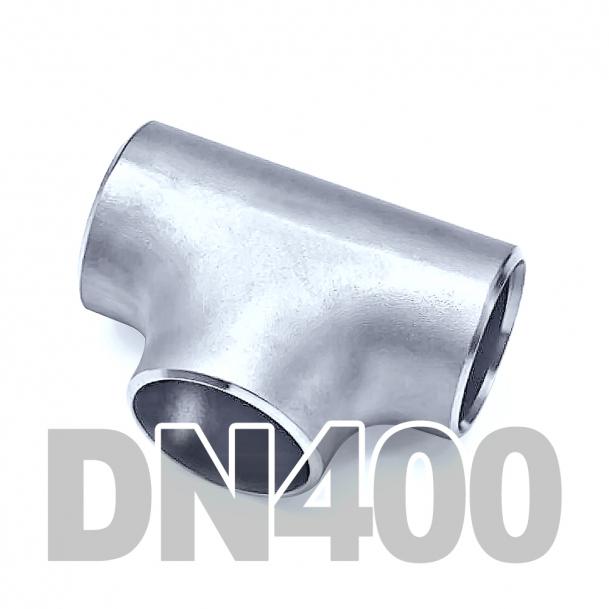 Тройник приварной нержавеющий DN400 AISI 304 (406.4мм x 3мм)