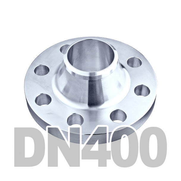 Фланец воротниковый нержавеющий DN400 AISI 316 PN16 (406.4мм) DIN2633