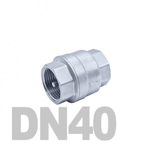 """Клапан нержавеющий обратный вр-вр DN40 AISI 316 (1 1/2""""   48.3мм)"""