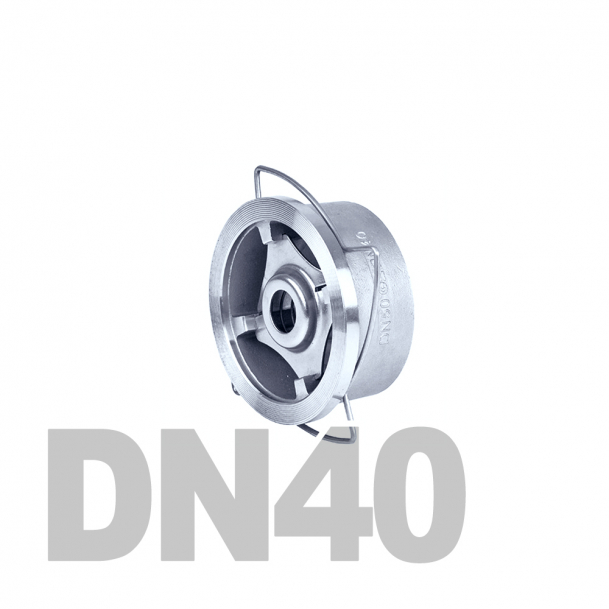 "Клапан нержавеющий обратный межфланцевый DN40 AISI 316 (1 1/2"" | 48.3мм)"
