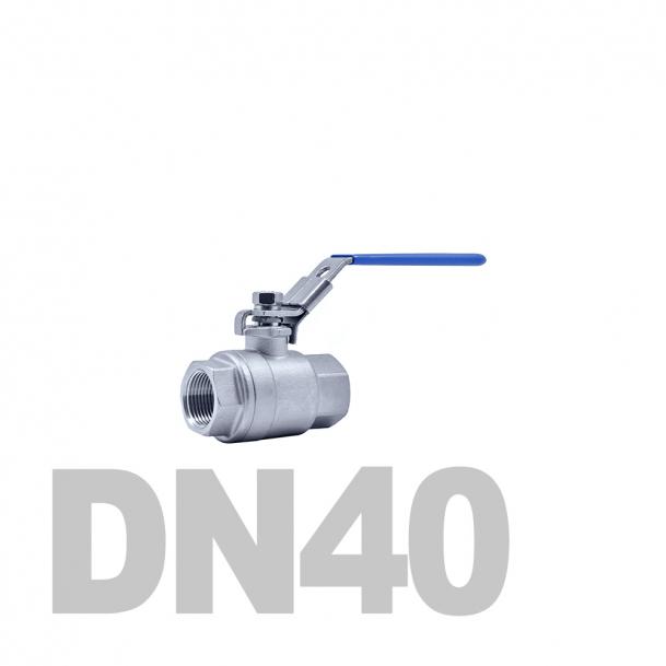 """Кран нержавеющий шаровой полнопроходной вр-вр DN40 AISI 316 (1 1/2""""   48.3мм)"""