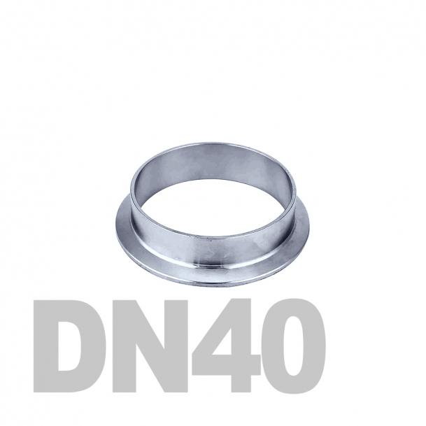 Фланцевая нержавеющая отбортовка DN40 AISI 316 (48.3мм x 2мм)