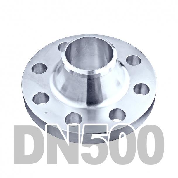 Фланец воротниковый нержавеющий DN500 AISI 316 PN16 (508мм) DIN2633