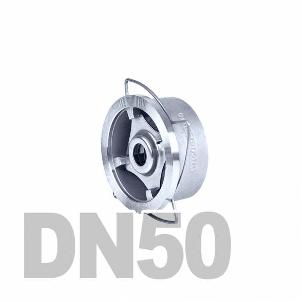 "Клапан нержавеющий обратный межфланцевый DN50 AISI 316 (2"" | 60.3мм)"