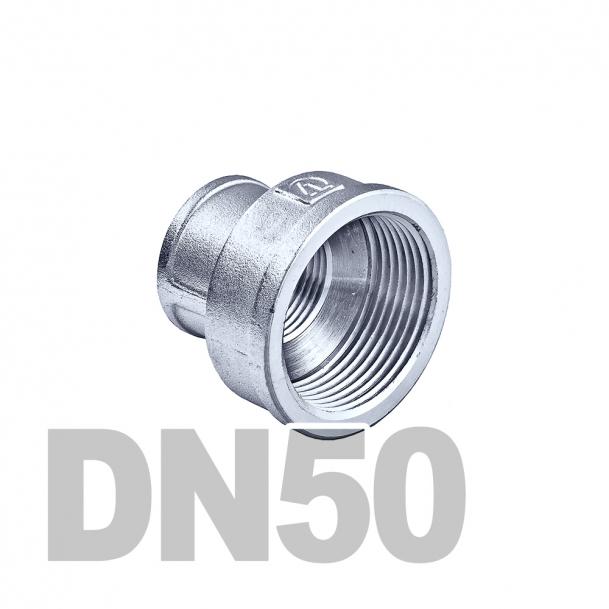 "Муфта нержавеющая переходная вр-вр DN50 x DN25 AISI 304 (2"" x 1"" | 60.3мм x 33.7мм)"