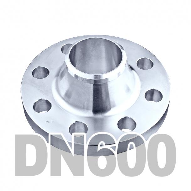 Фланец воротниковый нержавеющий DN600 AISI 316 PN16 (609.6мм) DIN2633