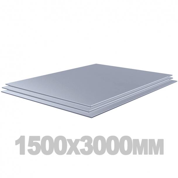 Лист нержавеющий (1500мм x 3000мм x 8мм) 10Х17Н13М2Т х/к матов.