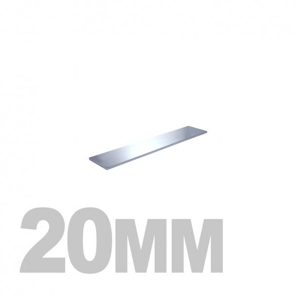 Полоса нержавеющая (20мм x 10мм) AISI 304