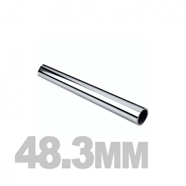 Труба нержавеющая круглая (48.3мм x 1.5мм) AISI 304