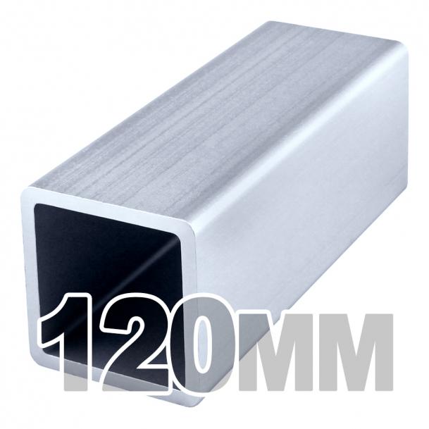 Труба квадратная нержавеющая (120мм x 120мм x 3мм) AISI 304