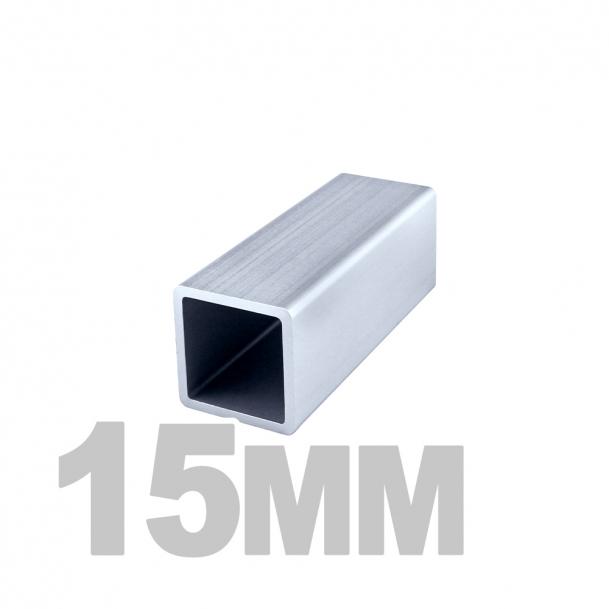 Труба квадратная нержавеющая (15мм x 15мм x 1.2мм) AISI 304